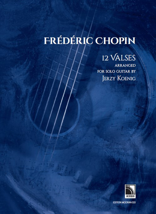 Chopin: 12 valses arranged for solo guitar
